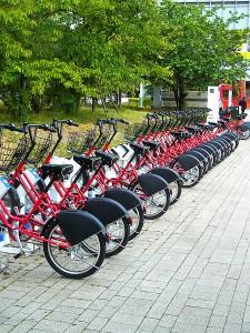 レンタサイクル(東京ビックサイト)